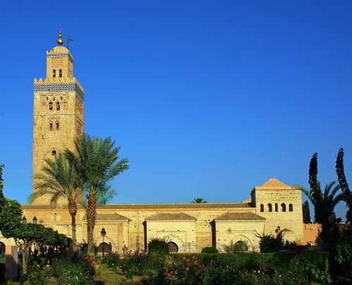 morocco marrakech koutoubia