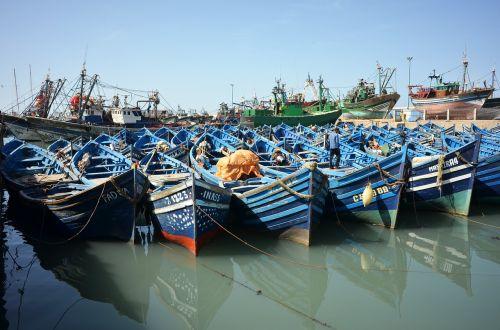 morocco boats port