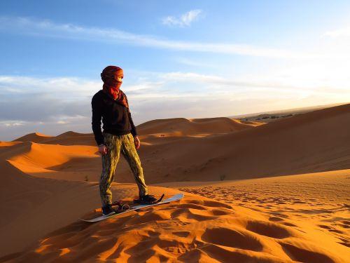 morocco algeria desert