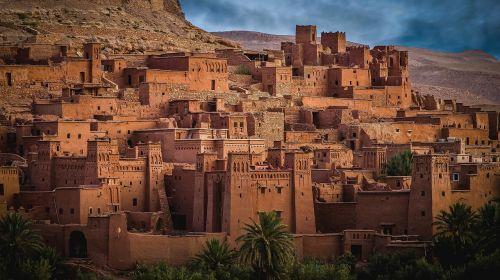 morocco ait-ben-haddou wilderness