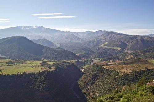 morocco mountains atlas mountains