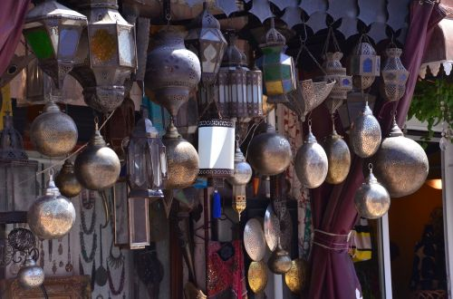 morocco lamps oriental