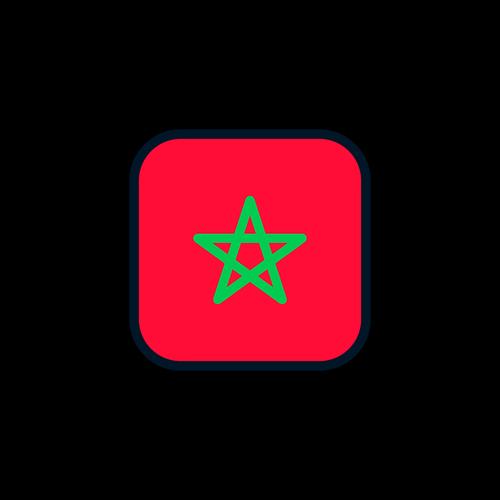 morocco  morocco icon  morocco flag
