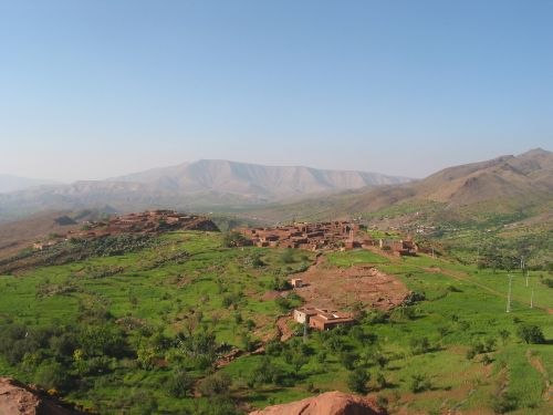 morocco atlas villages