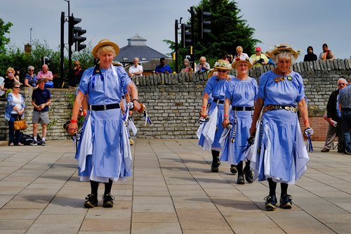 morris dancers  people  dance