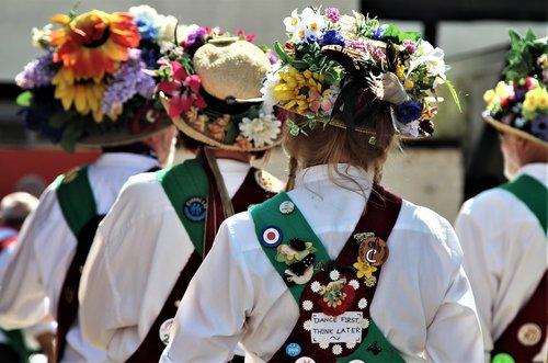 morris men  folk  dance