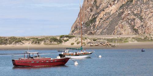 morro bay california boats red