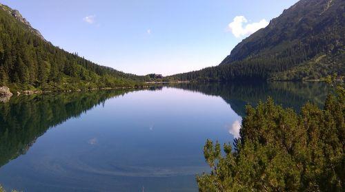 morskie oko tatry lake