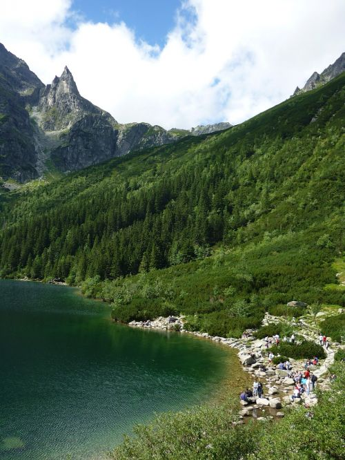morskie oko tatry mountains