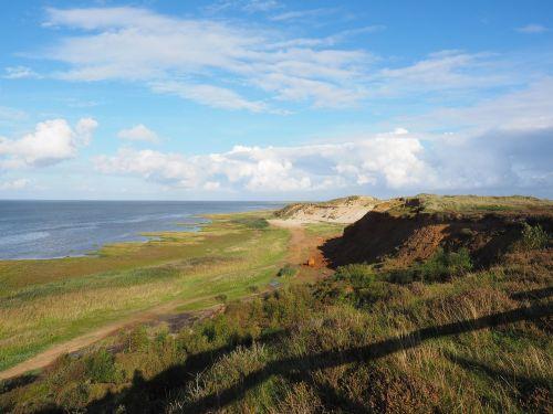 morsum-kliff cliff cliffs
