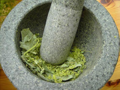 mortar frauenmantel alchemy