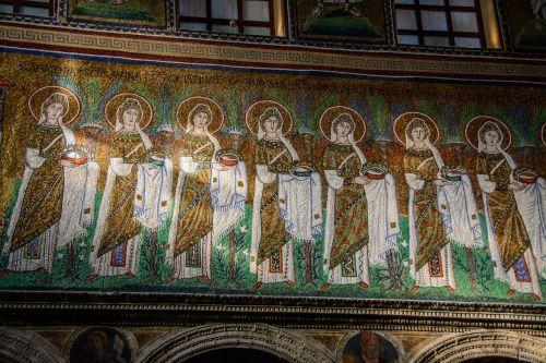 mosaic church wall