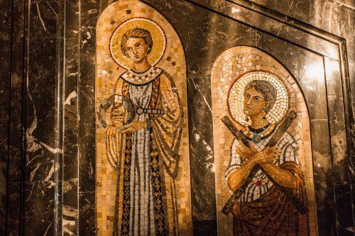 mosaic monserrat byzantine