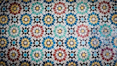 mosaic ceramic facade