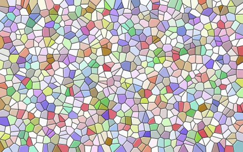 mosaic texture coloured stone