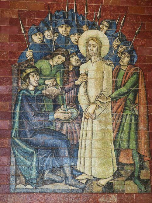 mosaic passion fatima