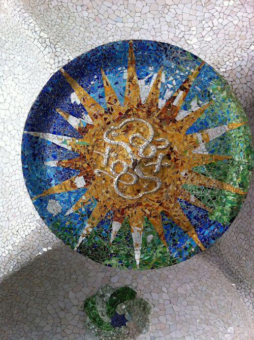 mosaic gaudí barcelona