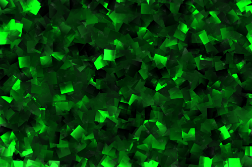 mosaic green the background