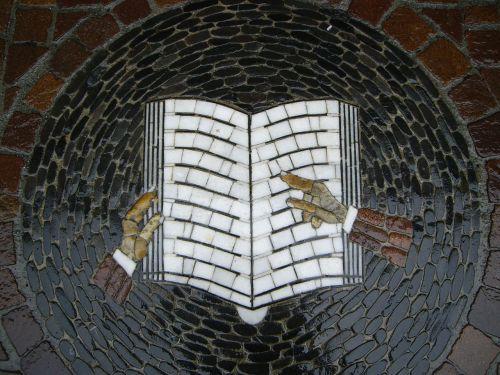 mosaic book symbol