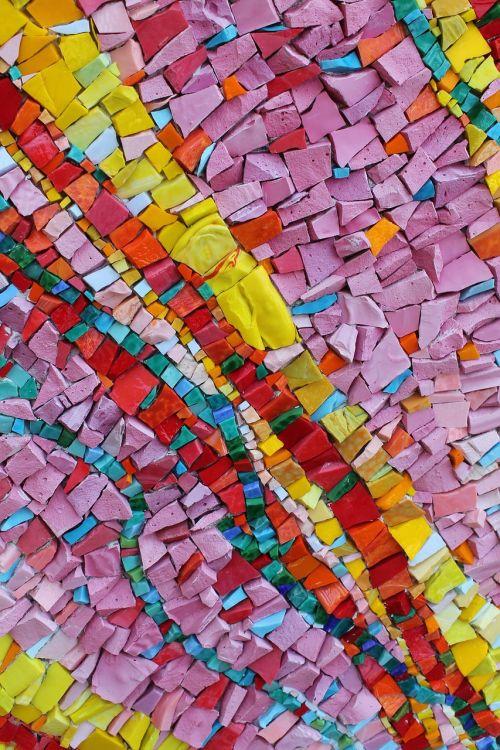 mozaika,spalva,atspalvių