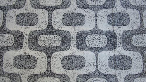 mosaic ground pattern