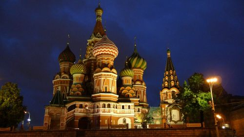 moscow red square to