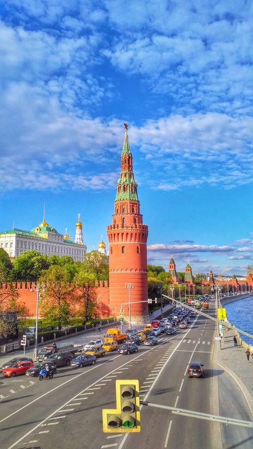moscow the kremlin kremlin embankment