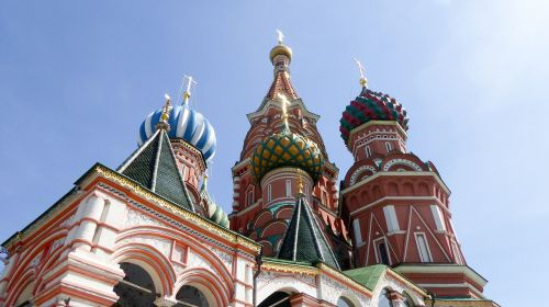 moscow saint basil's cathedral river cruise