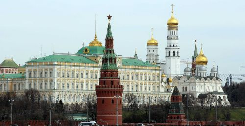 moscow the moscow kremlin russia