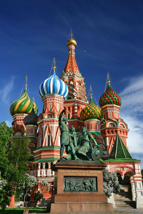moscow saint basil's cathedral red square