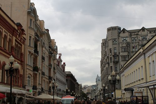 moscow  street  russia