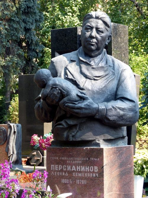 moscow cemetery grave