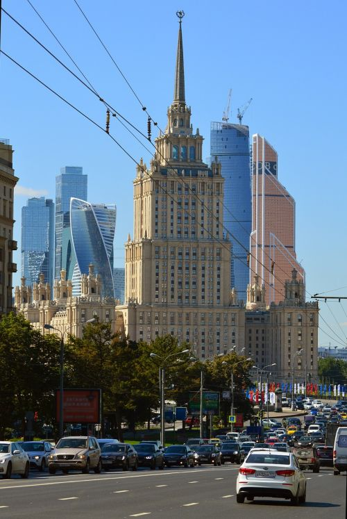 moscow traffic main