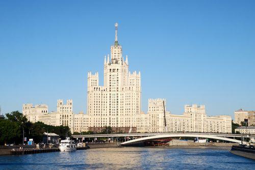 moscow, Rusija, rusų, sovietinė, architektūra, Maskvos architektūra