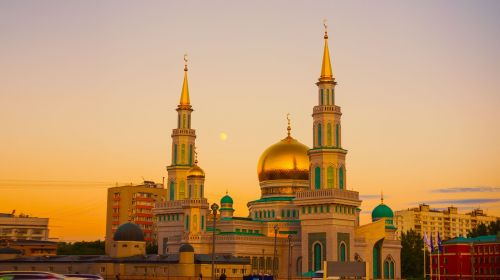 moscow cathedral mosque prospekt mira ramadan