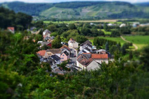 mosel village miniature