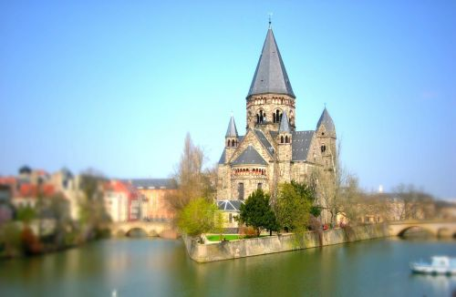 moselle metz tilt shift