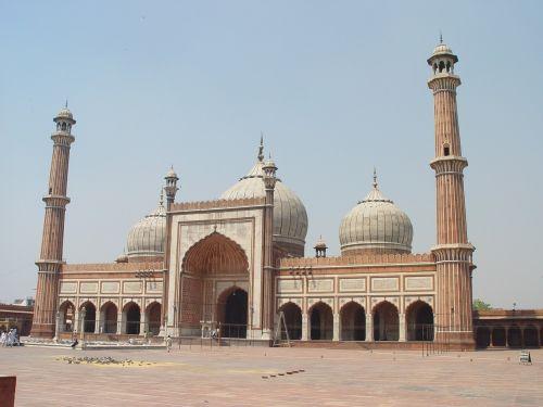 mosque new delhi india