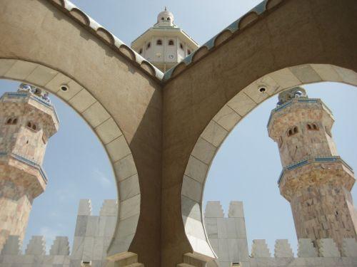 mosque senegal architecture