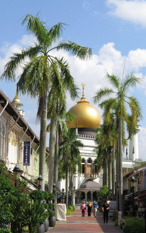 singapore sultan mosque muslim