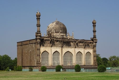 mosque gol gumbaz mausoleum