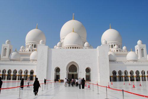 mosque abu dhabi white mosque