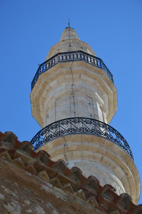 mosque minaret crete