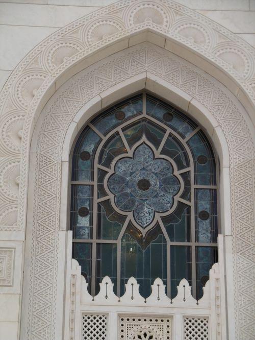 mečetė,Islamas,langas