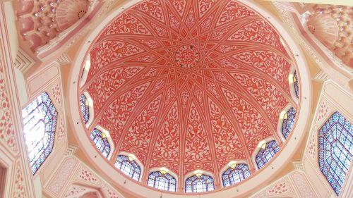 mečetė,rožinis,Malaizija,islamic,religija,kultūra