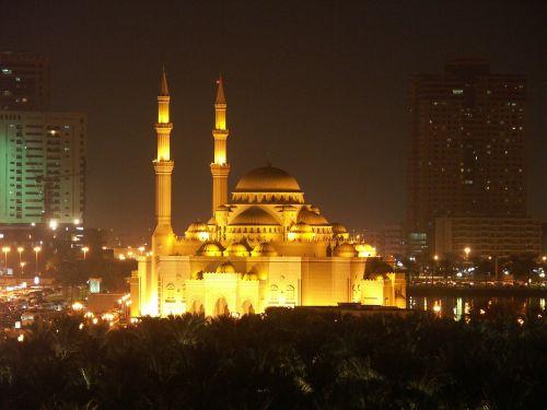 mosque sharjah uae