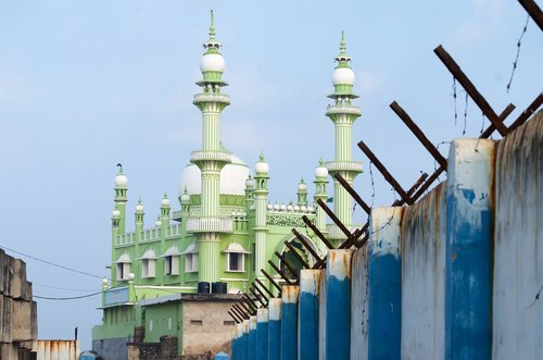 mosque  india  kerala