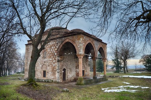mosque  serbia  old