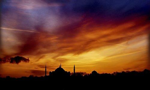 mosque  sky  holy