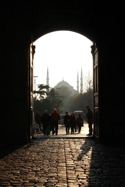 mosque istanbul door
